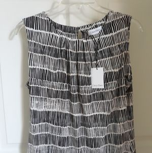 Brand new with tags Calvin Klein sleevless blouse